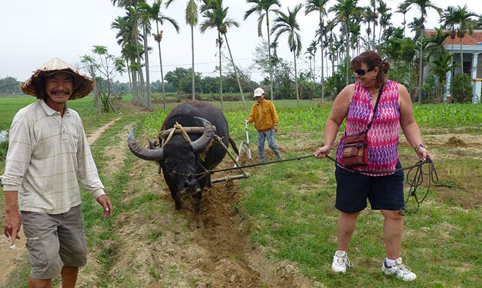 Tra Que village tour - day trips Hoi An