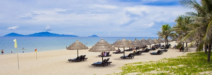 best beach in Hoi An