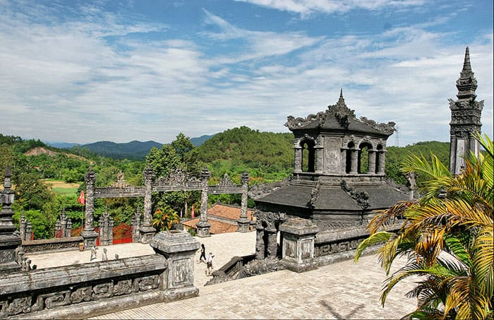 Khai Dinh tomb - Day trip to Hue from Hoi An